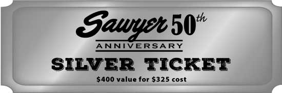 Special Silver Ticket - $400 value for $325 cost