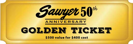Special Golden Ticket - $500 value for $400 cost
