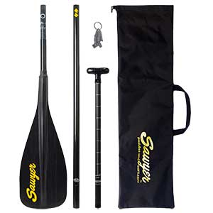 SAWYER Carbon Pro 3 Peice SUP Paddle